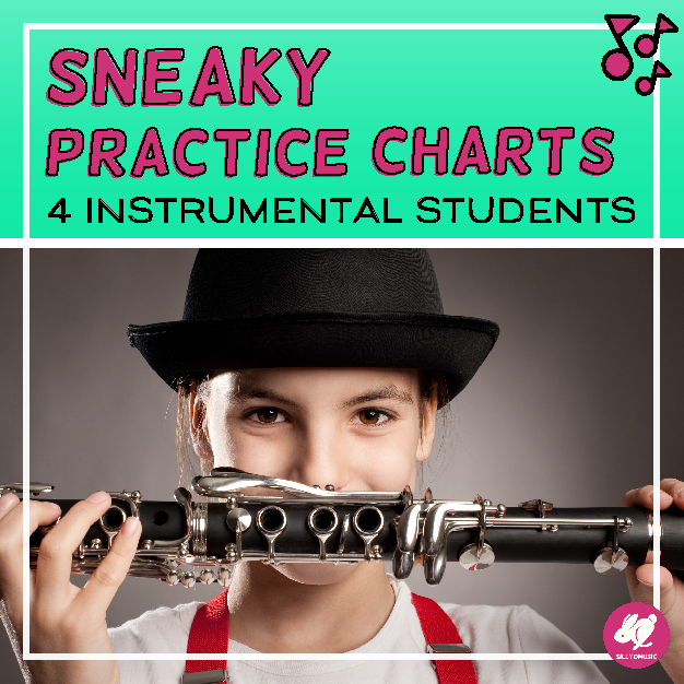 Sneaky Practice Charts For Instrumental Students This Year