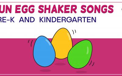 Shaker Egg Activities that Preschool and Kindergarten Love