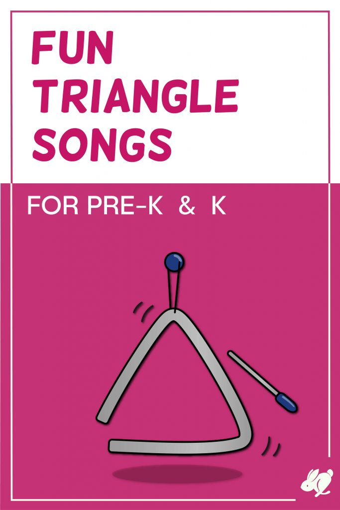 This list of triangle instrument songs and activities for preschool and kindergarten music will be a hit with your music classes. A perfect addition to you elementary music lessons or early childhood classes.