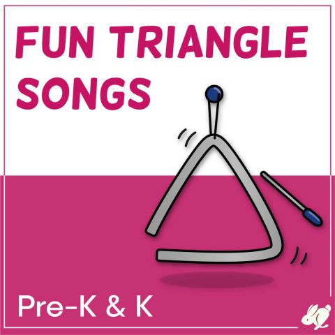 Triangle Songs that Preschool and Kindergarten Love