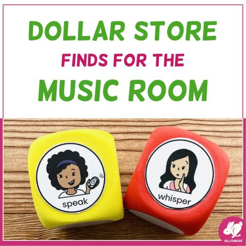 Favorite Dollar Tree Finds for the Music Room