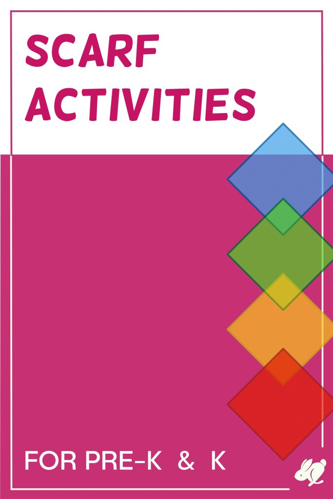 Here's a list of movement scarf activities for preschool and kindergarten music classes. Some of the activities can be used with toddlers as well. These can easily be added to your lesson, especially if kids are already going to have the scarves on hand for something else you've planned.