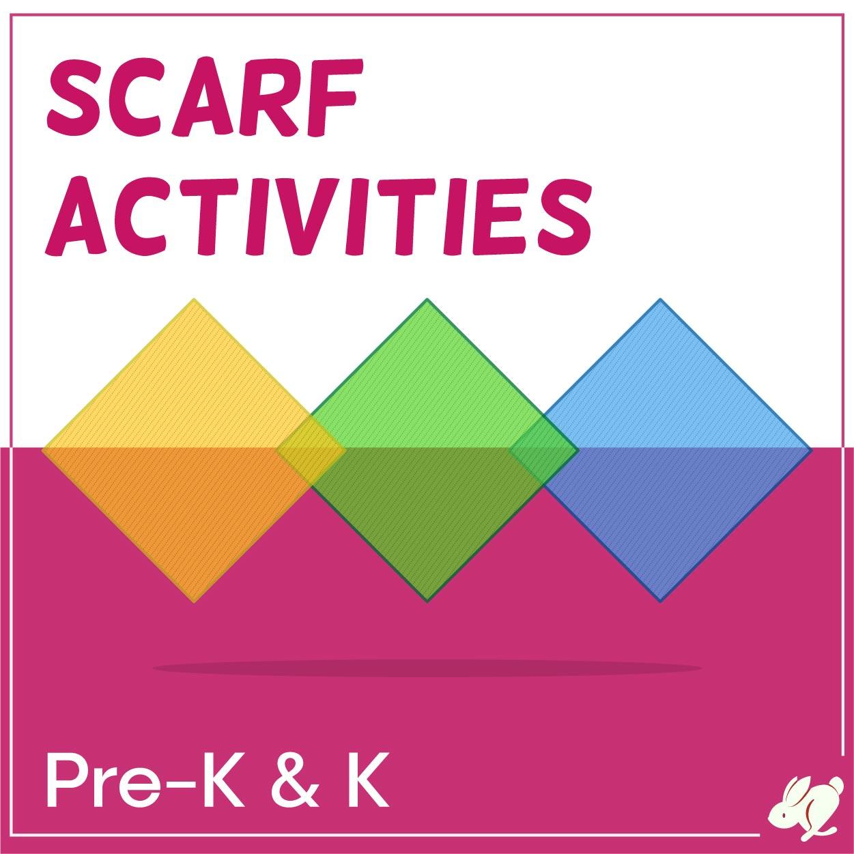 Movement Scarf Activities that Pre-K and Kindergarten Love
